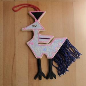 Papier-mache ornament 1