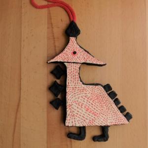 Papier-mache ornament 2
