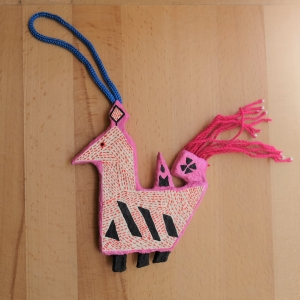 Papier-mache Ornament 3