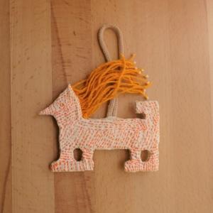 Papier-mache Ornament 4