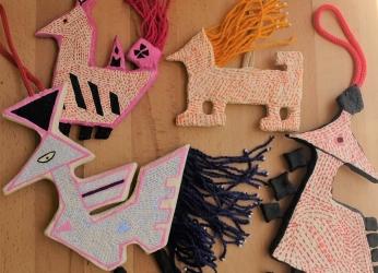 Papier-mache Ornaments